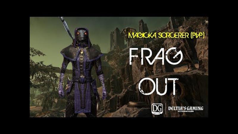 ESO Magic Sorcerer PvP Build Frag Out for Clockwork City DLC