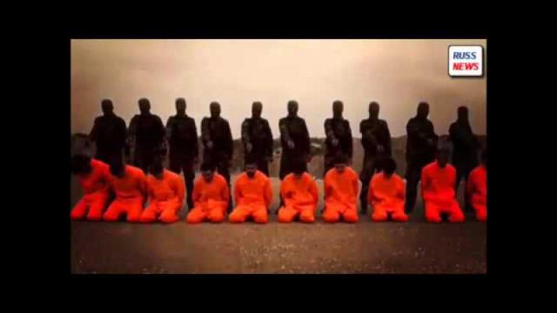 СИРИЙЦЫ ПОКАЗАЛИ БОЕВИКАМ ИГИЛ 'ПРАВИЛЬНУЮ КАЗНЬ' СМОТРЕТЬ ВСЕМ