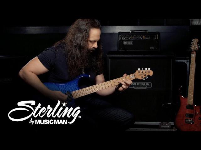John Petrucci Demos His Sterling by Music Man JP150