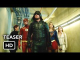 DCTV Crisis on Earth-X Crossover Teaser - The Flash, Arrow, Supergirl, DCs Legends of Tomorrow (HD)