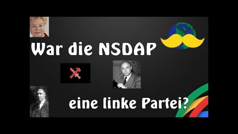 War die NSDAP eine linke Partei?