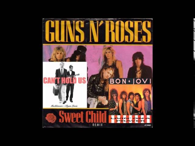 (Mashup) Guns N' Macklemore N' Jovi - Sweet Child Can't Hold Us On A Prayer [Quest]