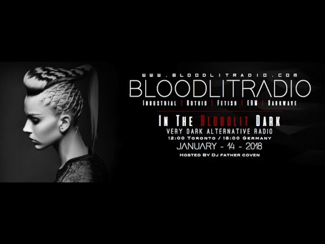 Industrial, EBM, Gothic, Synthpop, Darkwave (In The Bloodlit Dark! January 14 2018)
