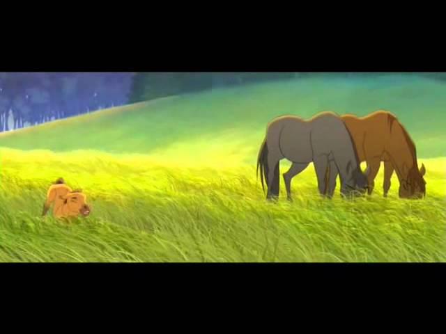 Spirit το Αγριο Αλογο Ελληνικο Τραγουδι απο την Ταινια
