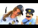 Polen meslek seçiyor! Polen polis oluyor 👮 – kurtarma operasyonu başlasın! Kız çocuk videoları izle