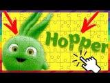 Kids movies. Sunny Bunnies - Meet the Bunnies - Hopper!  Video Game for Children