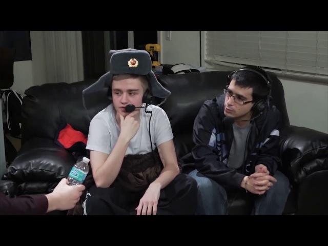Игроки продоты говорят на русском. (Дред-черепаха, боевой клич Нотейла)