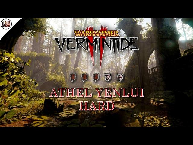 [Warhammer Vermintide 2] Прохождение Athel Yenlui! Геймплей за Рыцаря все тома и гримы (Beta)