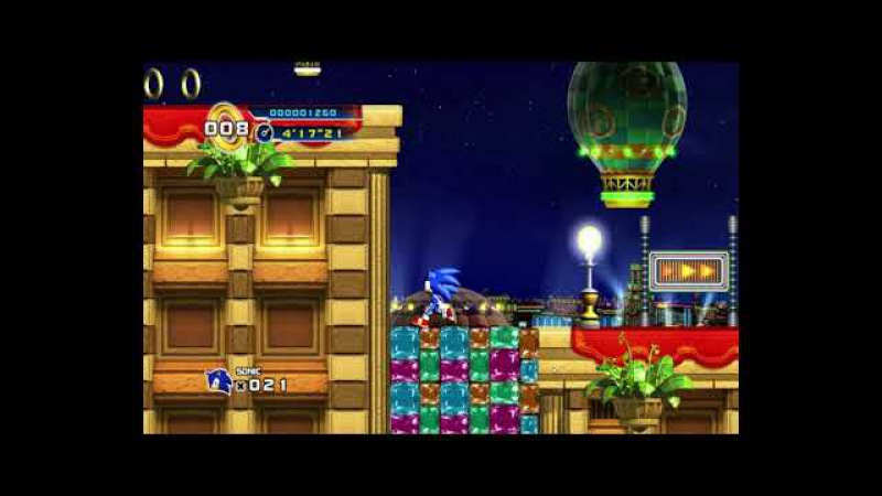 Casino Street Zone Act 3 - Casino Climax Sonic The Hedgehog 4 Episode 1