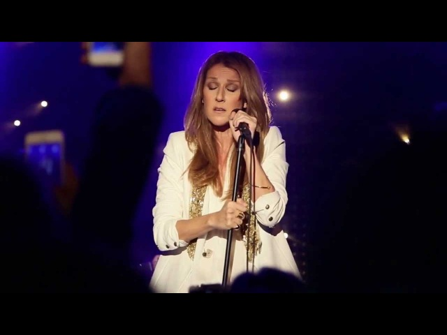 Celine Dion's acapella intro to