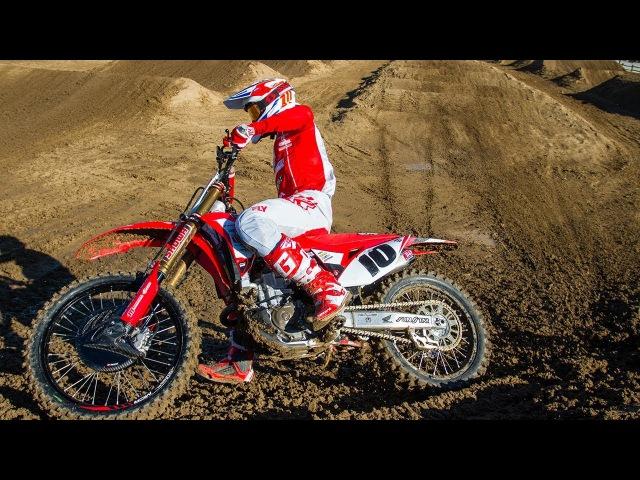 Racer X Films: Justin Brayton Supercross Testing