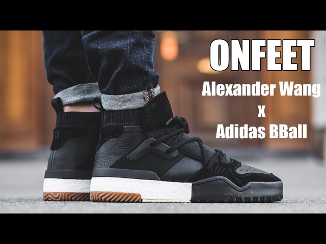 Adidas x Alexander Wang Bball Mid Black Onfeet Review | sneakers.by