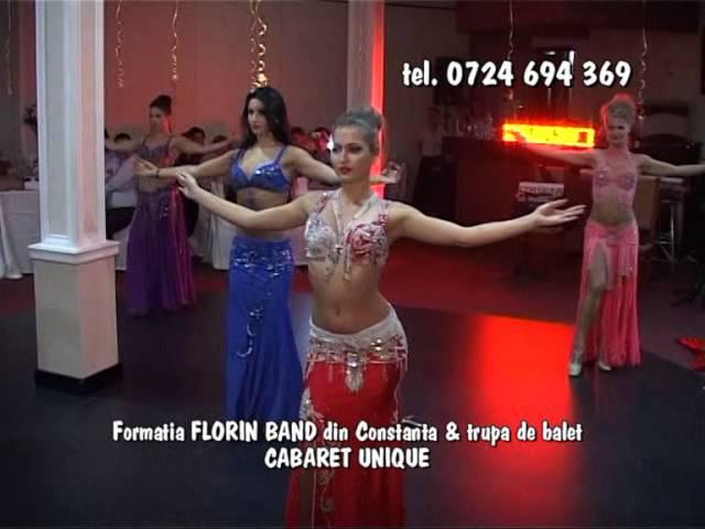 Formatia FLORIN BAND din Constanta si trupa de balet CABARET UNIQUE