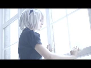 Nier: Automata. Maid 2b video cosplay