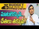 Dr.Jayaprakash Narayans Opinion on Arun Jaitleys Union Budget 2018-19 Loksatta Party S CUBE TV