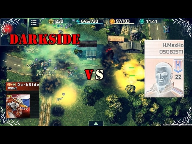 Art of war 3 DarkSide (Master Strategies) vs H.MaxHo (SENSES) FAST TOUR BATTLE 🚀🚀🚀