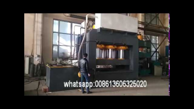 3000T C frame steel door skin embossing press machine