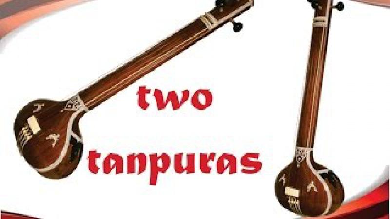Tanpura 2 Tamburas *2 hours* Meditation Yoga - Relax Deep,sleep Study Calming