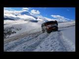 Безумству храбрых поём мы песню - Жесть, что творит соболь на цепях в горах по снегу над обрывом