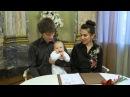 Регистрация ребёнка во Дворце Малютки Дом Малютки на фурштатской Детская видеосъемка в СПб
