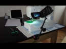 How I film my video tutorials | to film the desk from above