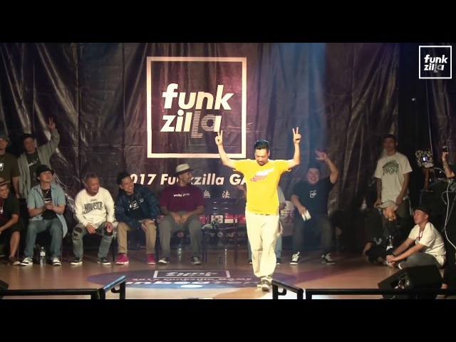POPPING PUBLIC SIDE Judge Solo - Gucchon (JPN) | 2017 FUNKZILLA GAME WORLD FINAL