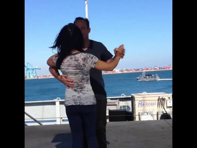 "Clark Gregg on Instagram: ""Repost @motancharoen FBF to @clarkgregg and @mingna_wen rehearsing their sexy little dance number ON A BOAT. Just a l..."