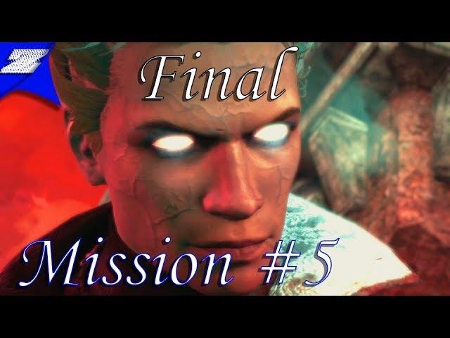 Прохождение Dmc Devil May Cry (2013) DLC [Крушение Вергилия] СЛОЖНОСТЬ НЕФИЛИМ. Миссия 5-6 ФИНАЛ