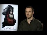 'Macbeth' Michael Fassbender Interview