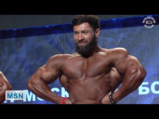 Чемпионат Москвы по ББ 2017. Мужчины 85kg.