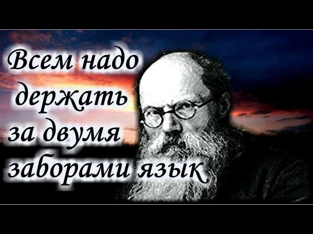 Никого не учите Совет Учительство Спасение Игумен Никон Воробьев