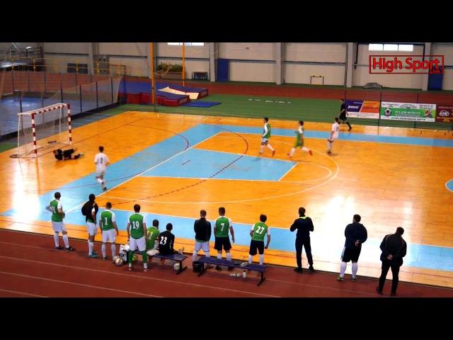 Highlights Вища ліга АФС КомСервіс-СумДУ2 2-2 Сервіс Люкс   HighSportLive   10.12.2017