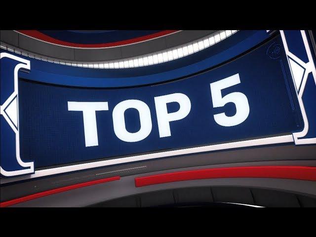 Top 5 Plays of the Night | Dec. 17, 2017 NBANews NBA