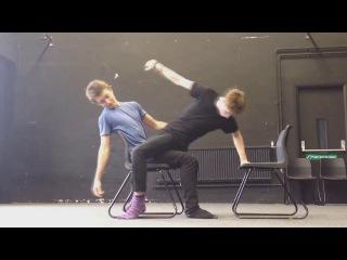 Harrison O. and Tian S. Physical Theatre (Like I Do-Witt Lowry AUDIO SWAP) #icsday