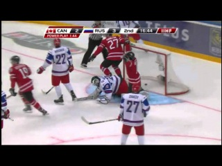 Russia - Canada 6:5 OT Bronze game IIHF WJC 2013; 05.01.2013