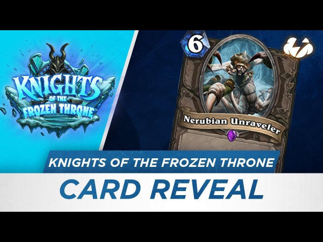Reynad and Eloise Hearthstone Card Reveal Nerubian Unraveler [KotFT]