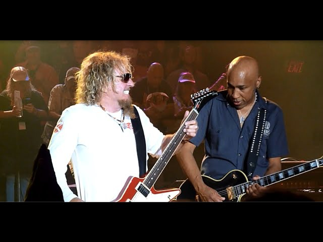 Sammy Hagar - One Way To Rock, I'll Fall In Love Again, You're Love Is Driving Me Crazy - 5-9-2015