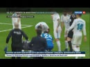 Новости на Россия 24 Проверил свой вид в зеркале мобильного Роналду рассекли бровь ударом ноги