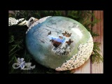 Decoupage Tutorial - Medallion with ornaments - DIY