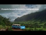 Горный Хребет на Гавайях появлялся во множестве Голливудских фильмов