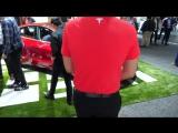 Tesla для бедных! Ну почти. Краткий обзор Model 3 __ Автосалон 2017