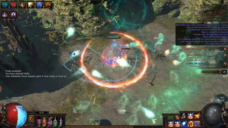 [WhyMe758] Path of Exile: Abyss [03] - Силовой РФ