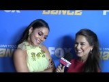 SYTYCD Season 14 Finale - Vanessa Hudgens INTERVIEW