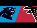 Atlanta Falcons - Carolina Panthers 31.12.17RU