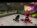 Бэтмен и Супермен против Капитана Америки и Железного Человека (с Тором)