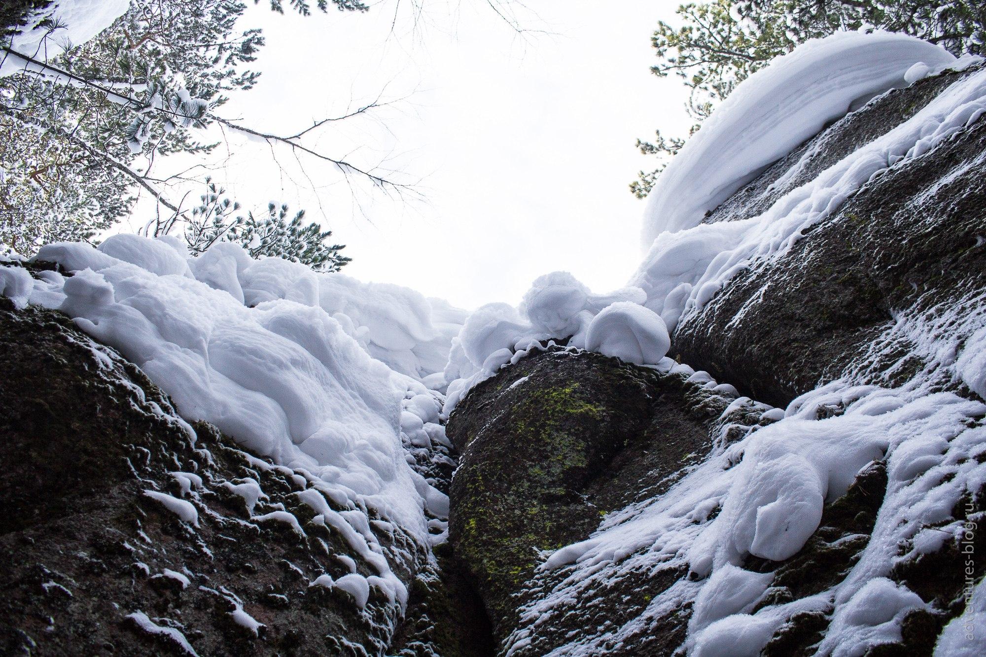 Снег на Царских воротах