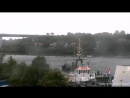НАТО ВМС Фрегат УРО Королевских ВМС Нидерландов HNLMS Evertsen F805 сквозь шлюзы Кильского канала Full video 28 09 2017