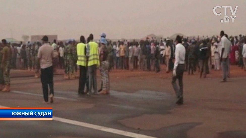 Белорусский самолет при посадке вЮжном Судане разрушил дом
