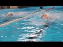 Первые соревнования по плаванию среди взрослых