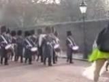Марш королевской гвардии в Лондоне, Великобритания. Guards Parade (1)